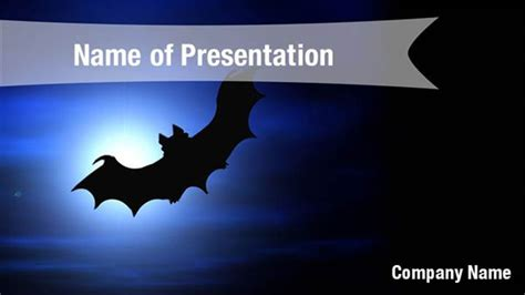 powerpoint horror themes scary bat powerpoint templates scary bat powerpoint