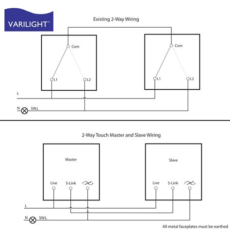 Two Way Dimmer Switch Wiring Diagram Electrical Website