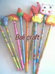 Pensil Kayu Orang Oleh Oleh Khas Bali bali craft