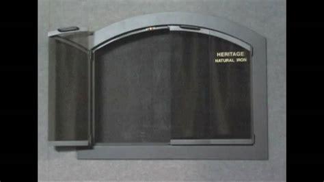 Plate Glass Door Heritage Arch Plate Fireplace Glass Doors Brickanew