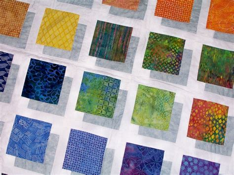 color block quilt pattern to make this stunning quilt