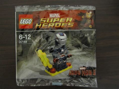 Lego Heroes 30168 Gun Mounting System Polybag review lego iron patriot minifig