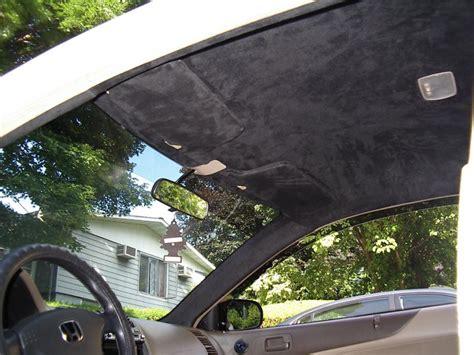 headliner upholstery repair got a quote for headliner repair honda tech