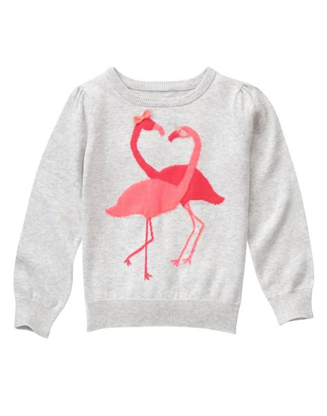 Sweater Crooks Dennizzy Clothing 1 flamingo sweater at gymboree lou lou gymboree babies clothes and clothing