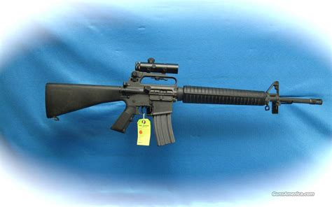 Blouse Ar Adiya 2w colt ar 15 hbar sporter a2 w colt scope 5 56mm for sale