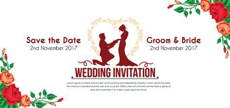 Wedding Invitation Card Logo by Wedding Invitation Card Psd Mockup Psddaddy