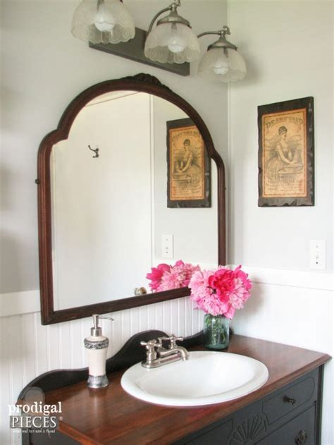 Farmhouse bathroom remodel reveal prodigal pieces