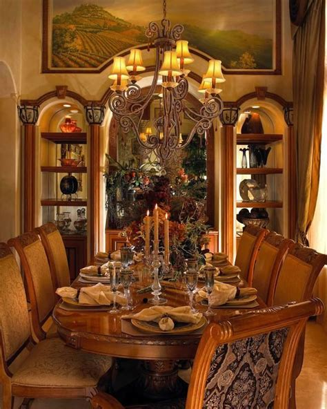 1000 ideas about tuscan dining rooms on