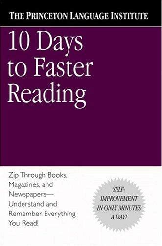 libro 10 days to faster r 233 sum 233 de livre 10 days to faster reading rapha 235 l lemaire