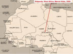 where is on the map where is wakanda strohm