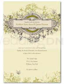 vintage wedding invitation templates wedding invitation