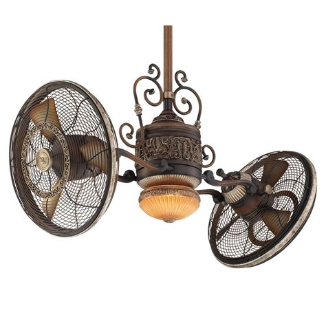 3 head ceiling fan minka aire traditional gyro ceiling fan f502 bcw 42