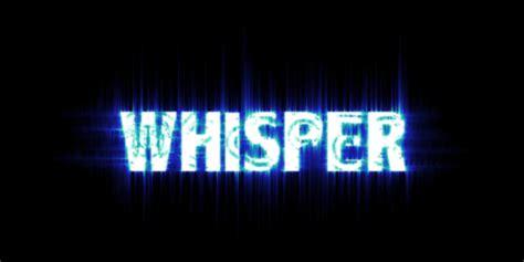 whisper the page whisper team