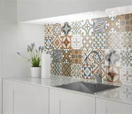 decorative tiles for kitchen backsplash the kitchen more unique and interesting by