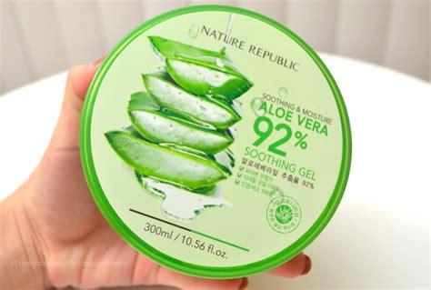 Harga Pasaran Nature Republic menjual produk kecantikan dan kesihatan aloe vera