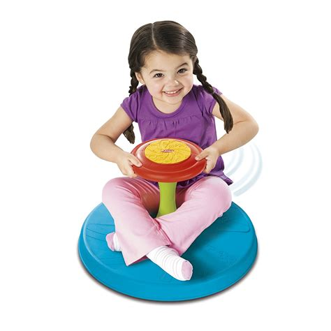 playskool play favorites sit n spin new free