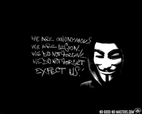 Tshirt Anonymous We Are Legion by T Shirt We Are Anonymous We Are Legion We Do Not Forgive