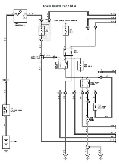 lexus v8 1uzfe wiring diagrams for lexus ls400 1995 model