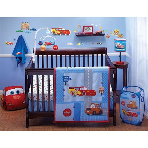 Car Crib Bedding Set with Race Car Baby Bedding
