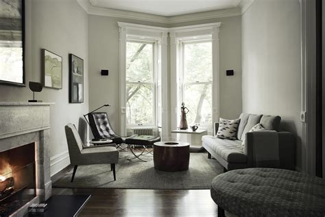 living room in brooklyn serene and luxe brooklyn townhouse daily dream decor