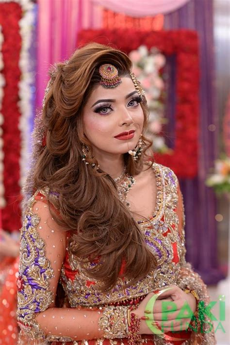 Wedding Hairstyles And Makeup by Beautiful Wedding Bridal Dresses Makeup And