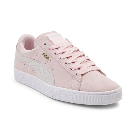 shoes for womens womens suede athletic shoe pink 361695