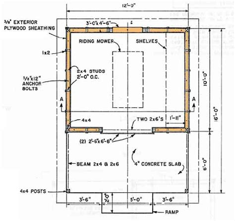 shed floor plans shed blueprints 12 215 16 how to build a shed