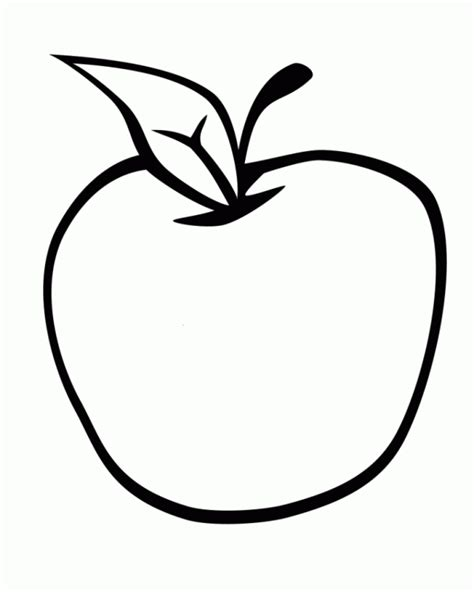 coloring apple clipart best images gt apple coloring gt apple coloring pages fruits
