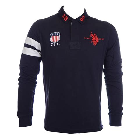 Hoodie Anak Polo 616 u s polo assn 1890 usa badge navy sleeve polo u s