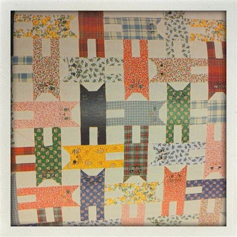 Patchwork Cat Quilt Block Patterns - cat quilt remember these made lots of pillows with cats