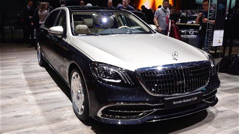 2019 Mercedes Maybach S650 2019 mercedes s class s650 maybach v12 new review