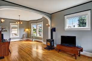 Living Room Wall Molding Traditional Living Room With Hardwood Floors By