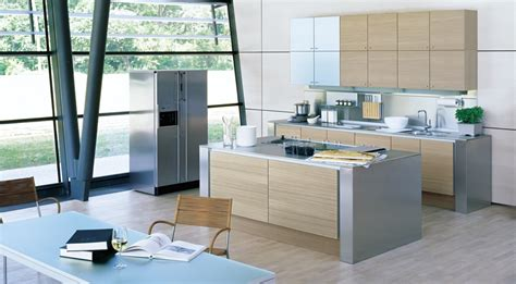 Kitchen Islands With Stainless Steel Tops by Style With Stainless Steel Interior Design