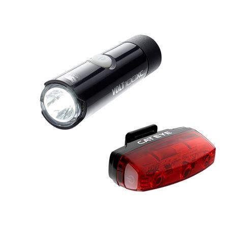 Cateye Lights by Cateye Volt 100 Xc Rapid Micro Lights Set Lights