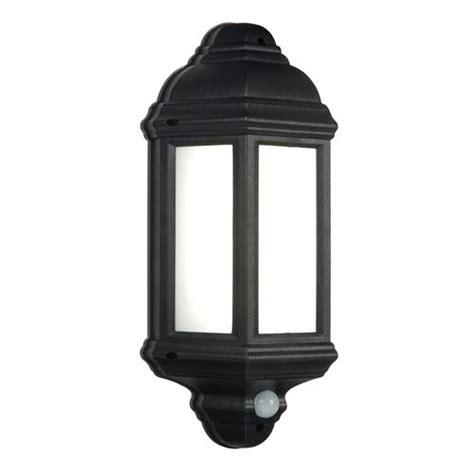 Outdoor Lighting With Pir Halbury Led Pir Sensor Wall Light 54553 The Lighting Superstore