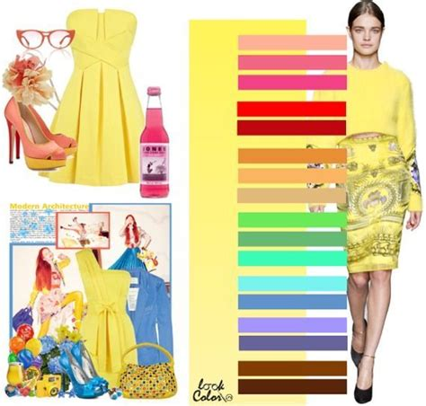 what color goes with yellow and red what goes with yellow color palettes pinterest