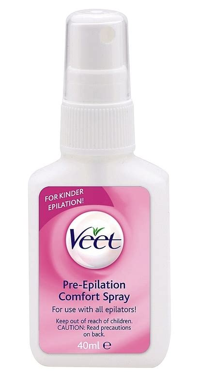Veet Pre Epilation Comfort Spray Reviews Productreview