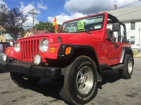 1999 Jeep Wrangler Sport Mpg 1999 Jeep Wrangler Sport 2dr 4wd Suv In Torrington Ct