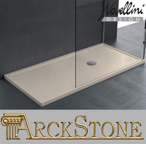piatto doccia novellini olympic plus piatto doccia bagno acrilico pavimento sottile rialzato