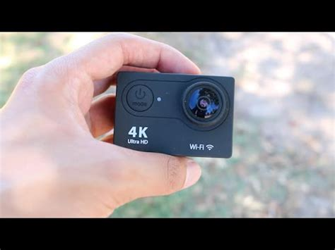 4k action camera review! youtube