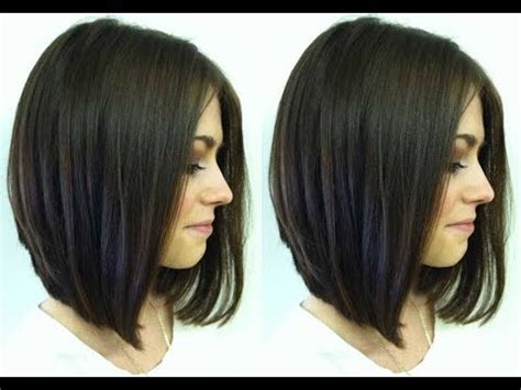 v angle in back of a med bob haircut how to cut a textured bob haircut medium bob haircut
