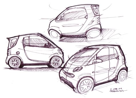 Sketches Of Cars by Car Sketch Lineweights