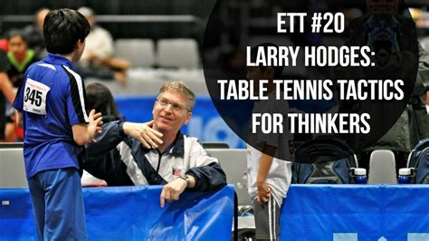 Maryland Table Tennis Center by Larry Hodges Table Tennis Tactics For Thinkers