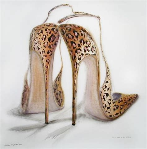 high heel shoe paintings the world s catalog of ideas
