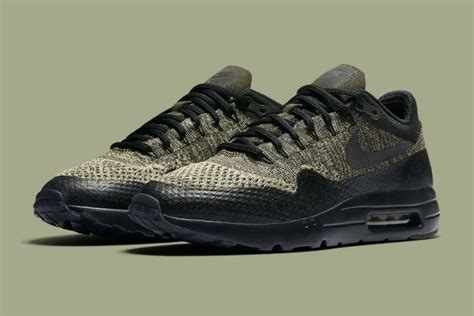 Nike Airmax Flyknit Premium Quality nike air max 1 ultra flyknit olive sneaker hypebeast