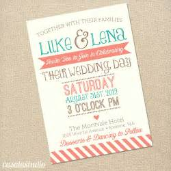 coral wedding invitations template best template collection