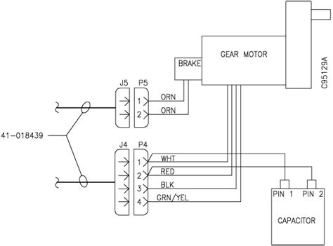 fan motor capacitor wiring wiring diagram with description