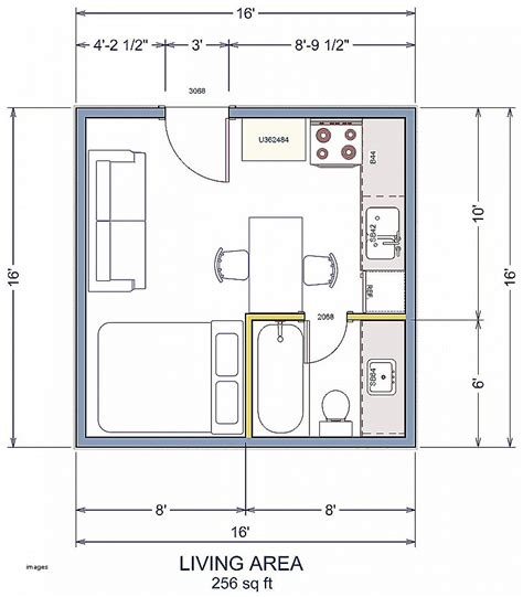 8 16 tiny house plan 8 16 tiny house plan numberedtype