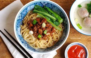 resep membuat mie ayam dan bakso resep mie ayam bakso praktis enak dan gurih