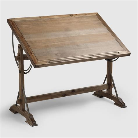 drawing desk drafting desk world market
